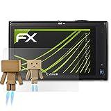 atFoliX Displayschutz für Canon Digital IXUS 240 HS/PowerShot ELPH 320 Spiegelfolie - FX-Mirror Folie mit Spiegeleffekt