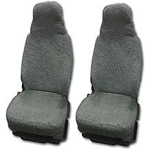 RAU universal sitzbezuge schonbezüge de 100% rizo Color Elefante para Pilot asientos y caravanas