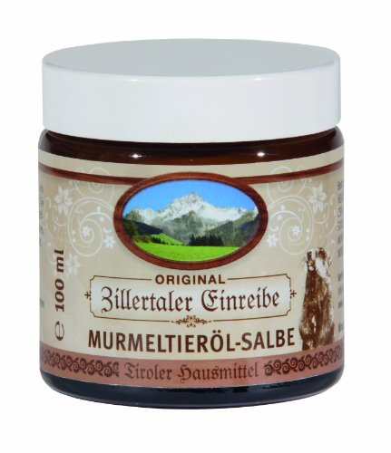 Zillertaler Einreibe Murmeltieröl-Salbe, 1er Pack (1 x 100 ml)
