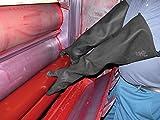 Handschuh Club Industrie schwarz Gummi Handschuhe Extra Lang–1Paar