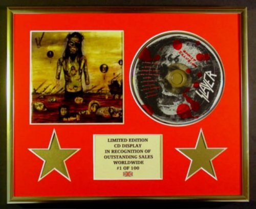 SLAYER/CD-Darstellung/Limitierte Edition/COA/SLAYER