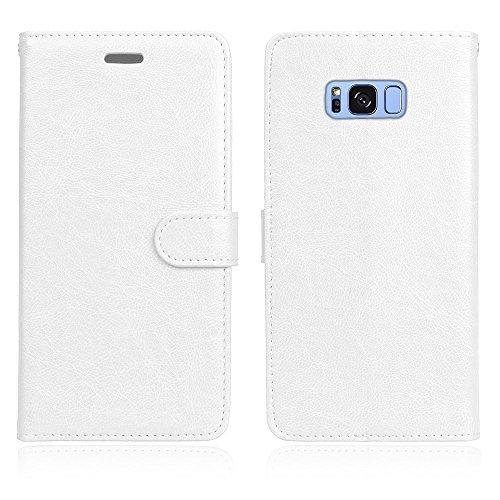 Funda Samsung Galaxy S8 Plus, Ecoway [3 ranuras para tarjetas] Serie retro Cuero de la Scrub PU Leather Cubierta, Función de Soporte Billetera con Tapa para Tarjetas Soporte para Teléfono para Samsung Galaxy S8 Plus- A-2