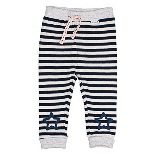 Salt and Pepper NB Trousers Bear Stripe Pantalon, Bleu (Navy 456), 62 cm Bébé garçon
