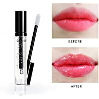 FOONEE Lip Plumper Lip Gloss All Natural Lip Plumper Serum Tratamiento, Lip Clear Plump Gloss-Hydrating, Hidratante, Diluyente Labios Sequedad Arrugas