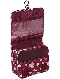 Multifunción portátil de viaje bolsa de maquillaje Toiletry Bag neceser maquillaje estuche organizador de maquillaje bolsas para las mujeres dama niñas