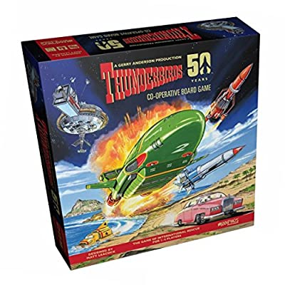 3xModiphius Thunderbirds Co-Operative Board Game