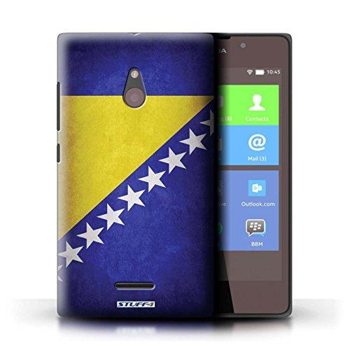 Kobalt® Imprimé Etui / Coque pour Nokia XL / Angleterre/anglais conception / Série Drapeau Bosnie-Herzégovine