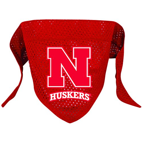 NCAA Nebraska Cornhuskers Pet Bandana, Team Color (Besten College Kostüme)