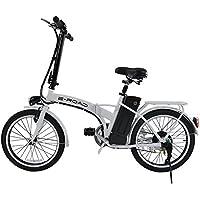 E-Road T- Bike Vélo électrique Mixte Adulte, Blanc
