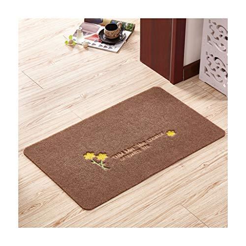 Teppich Wohnzimmer Home Decoration Mat Badezimmermatte Foyer geschnitten Werden Rutschfeste leicht zu reinigen Decken (Farbe : F, größe : 60 * 90cm) -