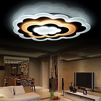 tianmin moderne acryl creative f hrte flush mount decke licht leuchten f r wohnzimmer bedroom. Black Bedroom Furniture Sets. Home Design Ideas