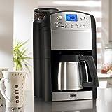 BEEM Kaffeeautomat Fresh-Aroma-Perfect Deluxe V2 (Version 2017) 1000W Edelstahl ( Mit Timer und individuell einstellbaren Mahlgrad)