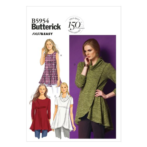 butterick-patterns-b5954-patron-de-tunique-pour-femme-blanc