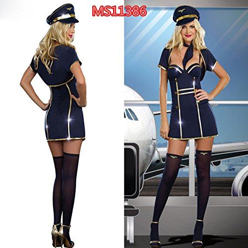 Gorgeous Nachtclubs führen Tänzer Kostüme Halloween Kostüme Damen Marine-Seemann spielt Rollenspiel Kostüme , (Kostüme Halloween Tänzer)