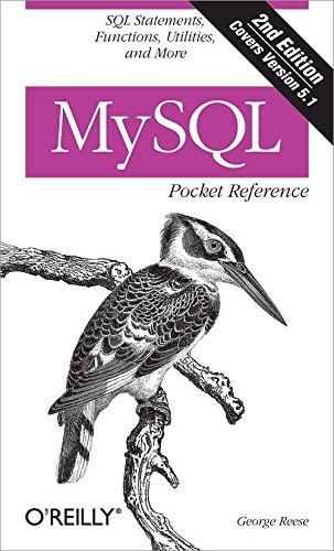 MySQL Pocket Reference: SQL Functions and Utilities (Pocket Reference (O'Reilly)) by George Reese (27-Jul-2007) Paperback par George Reese
