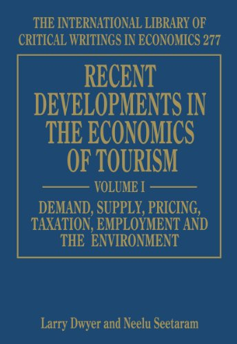 Recent Developments in the Economics of Tourism (sold in 2 volumes)