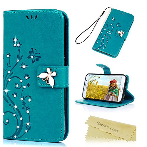 samsung s6 flip case for women