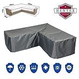 Premium Cover Protettiva in Tessuto Oxford 300d impermeabile e resistente ai raggi UV per mobili da giardino LOUNGE SET DIVANO, adatto per ca 255* 255* 90W * 65/90H cm
