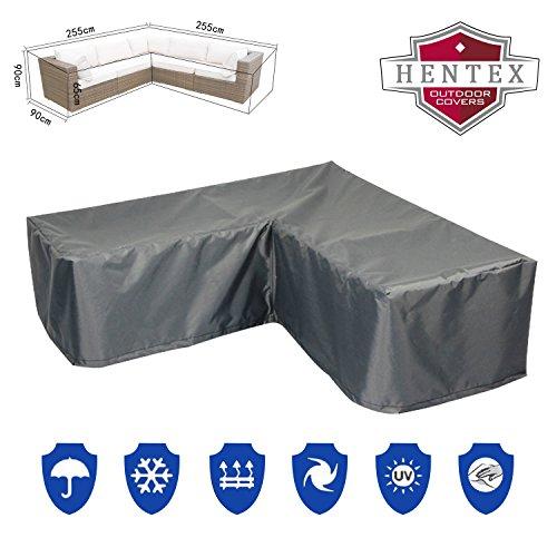 Premium 3298 Loungeset Sofa Schutzhülle für Gartenmöbel aus mehrschichtige Ripstop-Polyester...