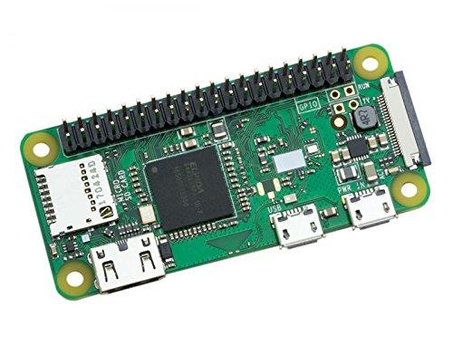 Raspberry Pi Zero HW Development board with Built-in WiFi and Bluetooth (Multicolour)
