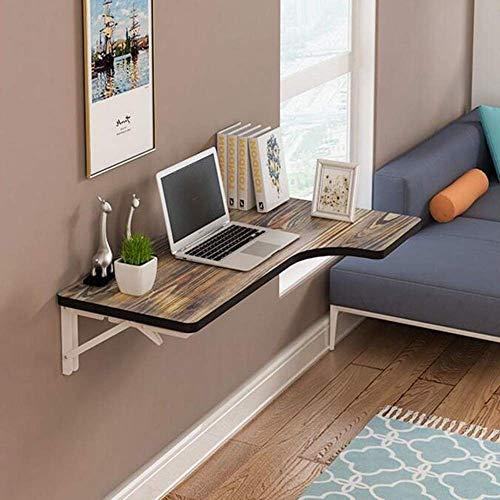 MEIDI Home Tabelle L-förmige Schreibtischstudie Tabl Computertisch Ecke Wandmontierter Schreibtisch -
