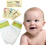 2 Nappies - Bambo Trial Pack Midi (5 to 9 kg, 11 to 20 lbs)