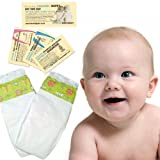 2 Nappies - Nature Babycare Trial Pack Midi (4 to 9 kg, 9 to 20 lbs)