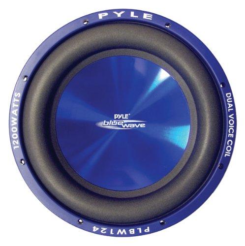 Pyle PLBW104DVC-Subwoofer, 25,4 cm, 1000 W Dvc Blue Wave Woofer