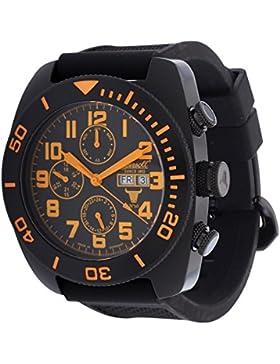 Ingersoll Herren Armbanduhr Bison NO.60 Limited Edition Schwarz IN1306BKBK