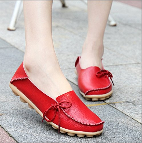 Fangsto - Mocassins (loafers) Femme Sty-1 Red