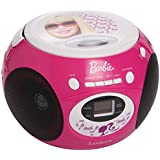 Barbie - Reproductor de CD , color rosa / blanco (Lexibook RCD102BB)