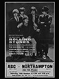 The Rolling Stones Foto-Nachdruck eines Konzertposters 40x30cm