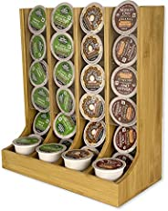 Coffee K Cup Holder Bamboo - Coffee K-cup Pods Organizer For Coffee Station - Coffee Storage - K Cup Organizer