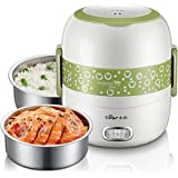 Tradico® Electric Heating Lunch Box Food Warmer Meal Steamer Container Rice Cooker 220V