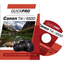 Canon T4i Instructional DVD by QuickPro Camera Guides