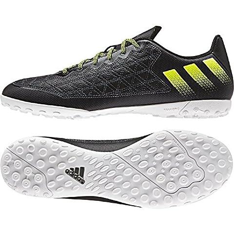 adidas Ace 16.3Cage Mult inocken Fútbol guantes, negro, 46