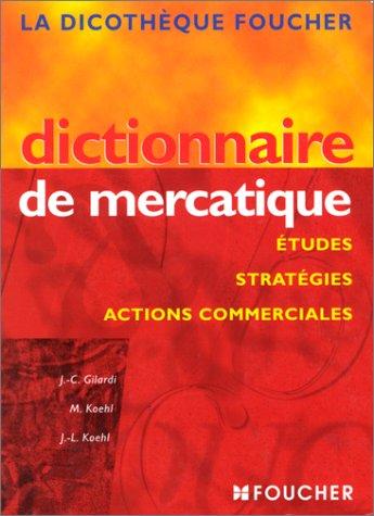Dictionnaire de mercatique