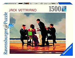 Ravensburger Jack Vettriano: Elegy For A Dead Admiral Puzzle (1500 Piece ) by Ravensburger (English Manual)