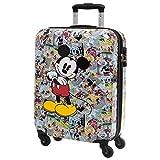 Disney Mickey Comic Equipaje de Mano, 33 Litros, Color Varios Colores