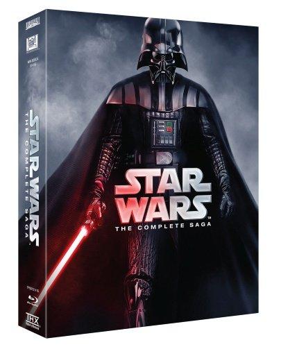 Star Wars - Complete Saga (6 Films) - 9-Disc Box Set ( Star Wars: Episode I - The Phantom Menace / Star Wars: Episode II - Attack of the Clo [ Origine Suédoise, Sans Langue Francaise ] (Blu-Ray)
