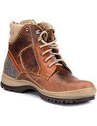 tZaro Genuine Leather CAPZ8603CRZBN Boots
