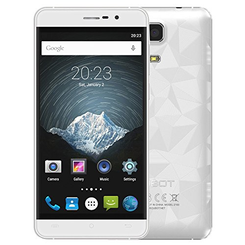 CUBOT Z100 PRO – 4G LTE Smartphone 5.0inch IPS Pantalla 1280*720pixels Android 5.1 MTK6735 Quad-Core 1.0GHz 3GB +16GB 5.0MP+13.0MP Doble Cámara Doble Tarjeta SIM