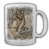 Babylon Gemälde Solomon Simeon 1859 Antike Assyr Assyrer Geschichte Irak Kultur Religion - Tasse Kaffee Becher #16520