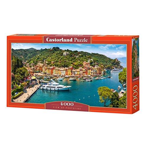 Castorland C-400201-2 View of Portofino, Puzzle 4000 Teile