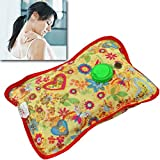 #5: Varshine Premium Electric Heat Bag Hot Gel Bottle Pouch Massager Warm for Winter Aches reliever Rectangle Shaped for Full Body Pain Relief G-303