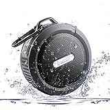 MIDWEC Bocina Bluetooth 3.0 a Prueba de Agua con Ventosas de Succión para usarse en el Baño y Micrófono Integrado