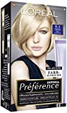 L'Oréal Paris Préférence Coloration Hellaschblond 9.1, 3er Pack (3 x 1 Colorationsset)