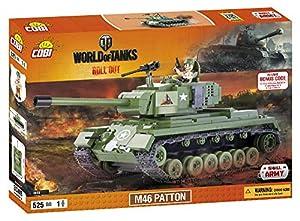 Wargaming - Patton, Tanque, Color Verde (COBI 3008)