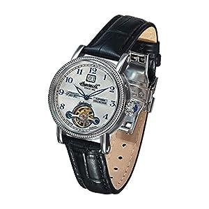 Ingersoll Rebecca II - Reloj de automático para mujer, con correa de cuero, color negro de Ingersoll