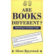 Are Books Different?: Marketing in the Book Trade